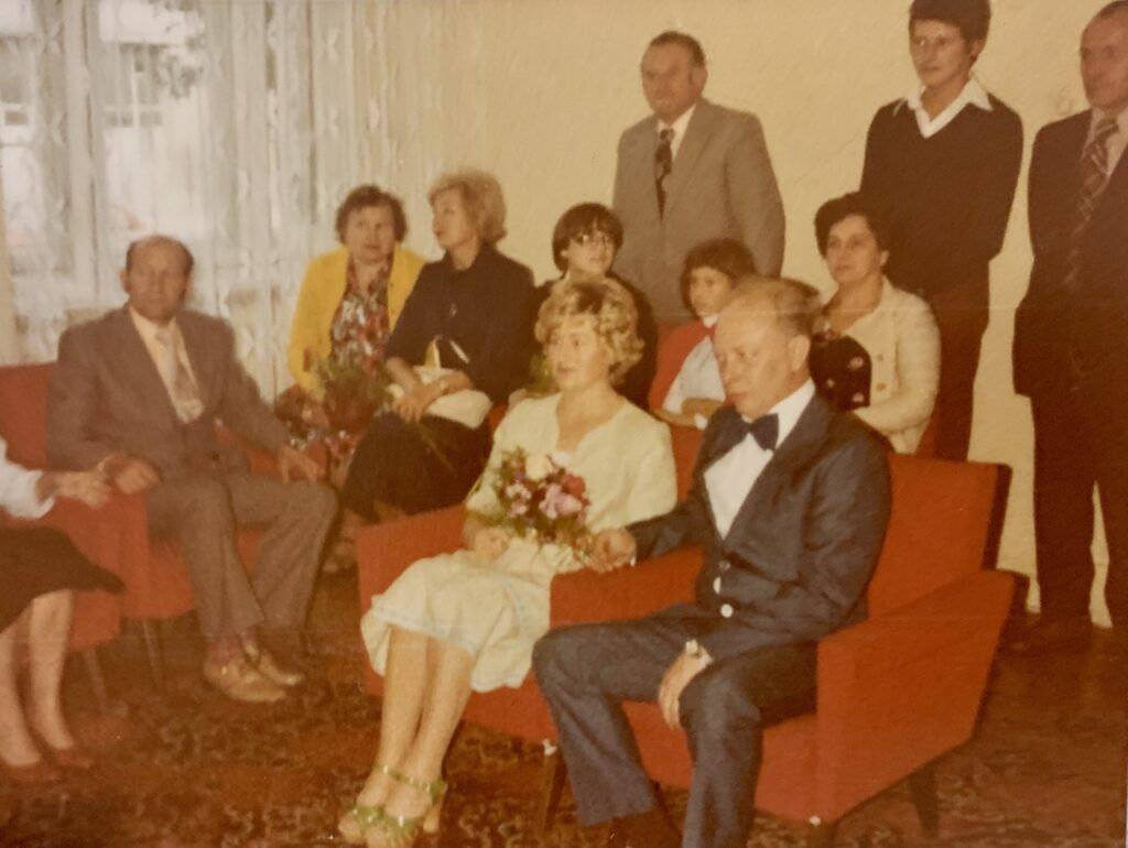 One of few photos I have on my father and mothers wedding in Poland.