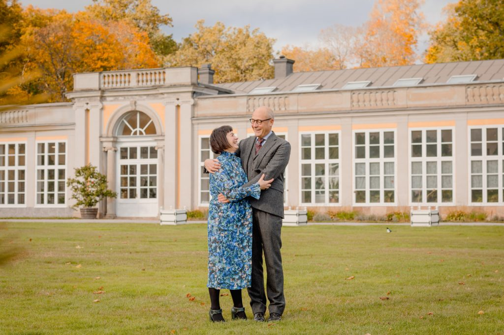 couple session on another gorgeous locations of Stockholm, Ulriksdal castle