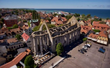inspirational timelines st:a klara ruin in Visby, Gotland