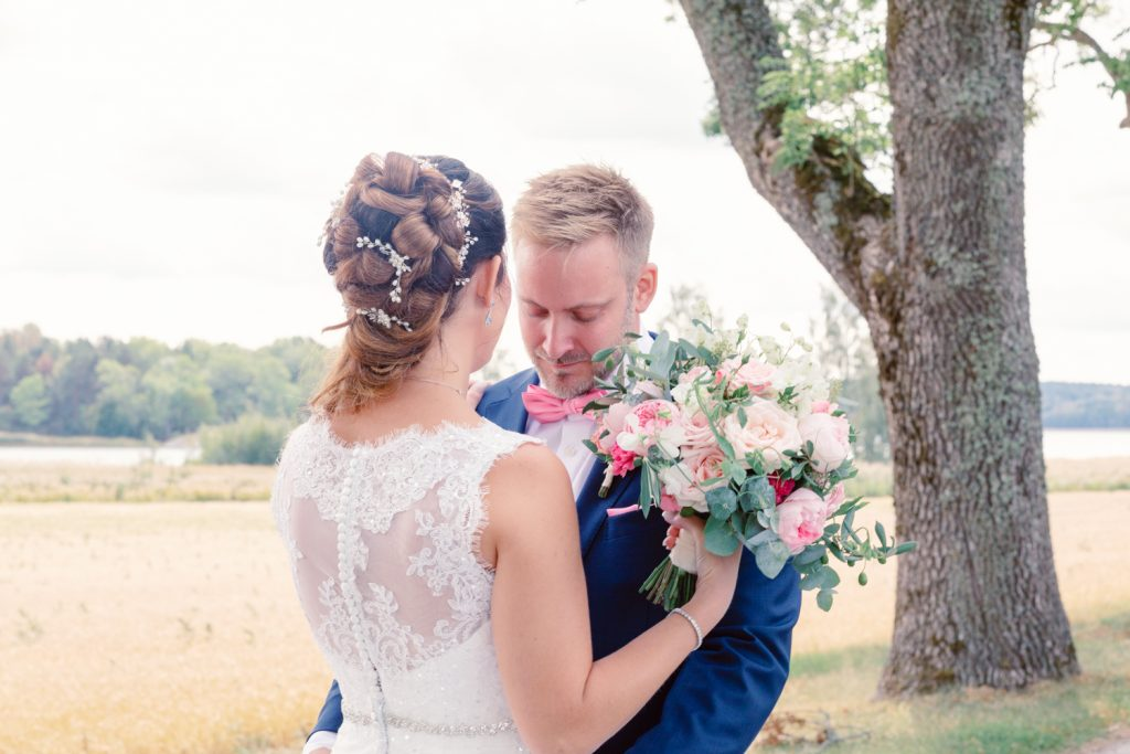 bridal updo's and a alley first look