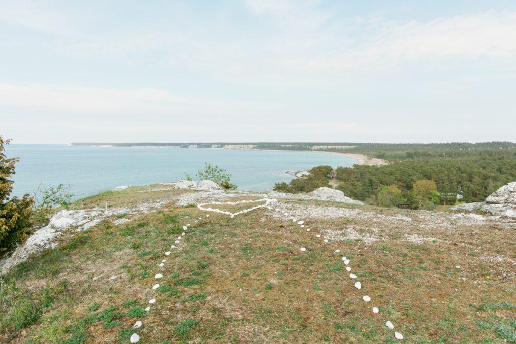 inspirational timeline ihre klint ready for a wedding ceremony over looking the gotlandic coastline