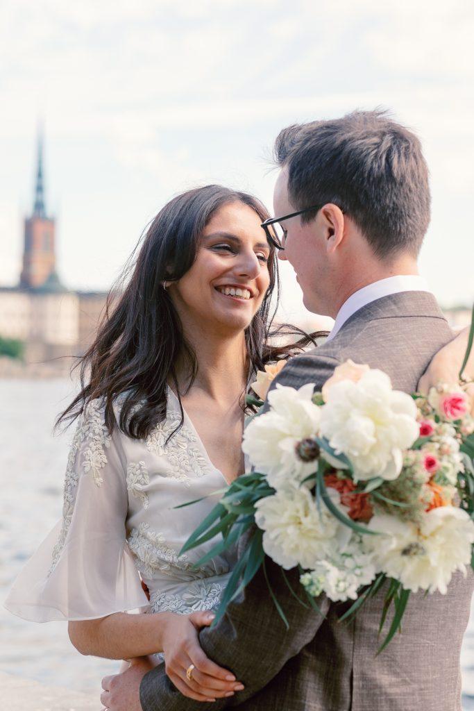 summer elopement beautiful Visby