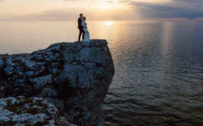 One stunning inspirational editorial from summer sunset in Gotland
