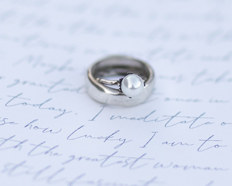 beautiful and unforgettable elopement details rings and loveletter
