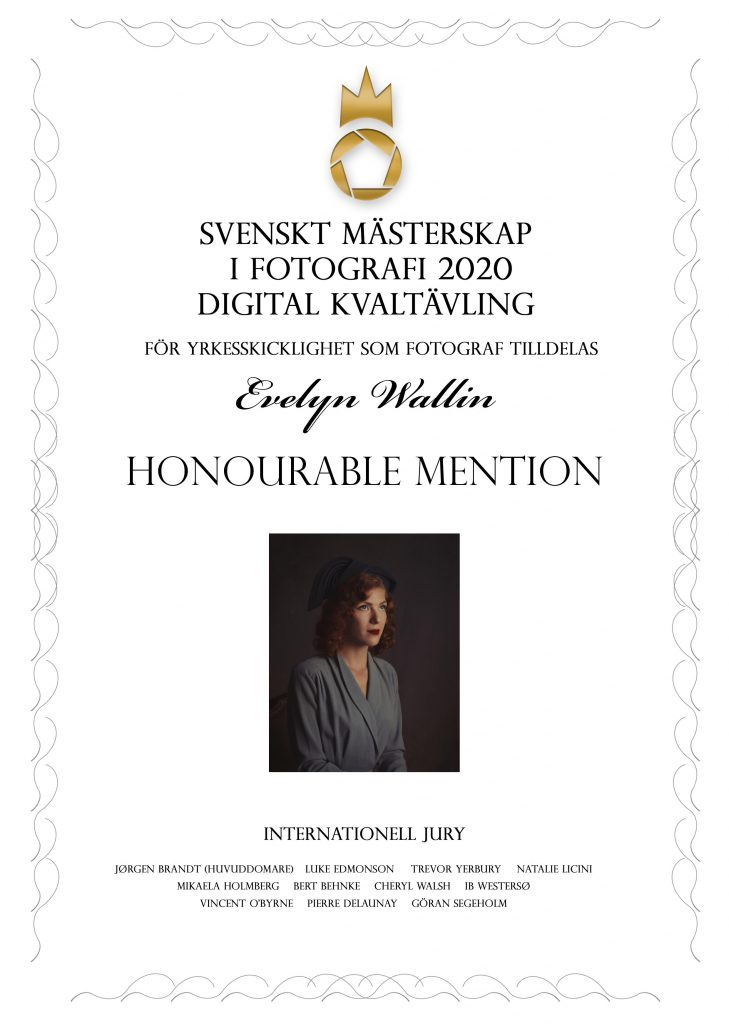 finals, honourable menions in swedish championship of photography